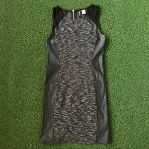 H&M Women Black/Grey Casual Dress Size 6
